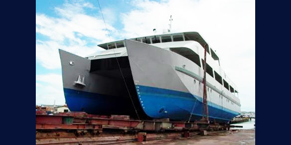 42m Island Passage MNZ Design, stability review and Survey
