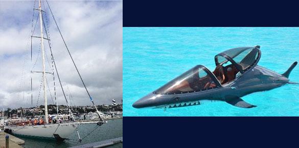 5m Sea Breacher- AMSA Design, Stability and Survey for Australian Adventure Tourist Industry