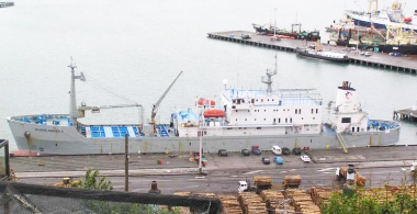 Cement Carriers- Design and installation of 40 tonne crane, and container stack foundations
