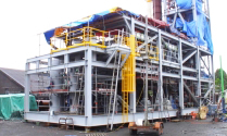 Shore based Gas Terminal structures